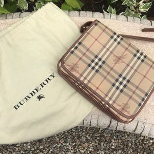 Burberry bag and dusting bag